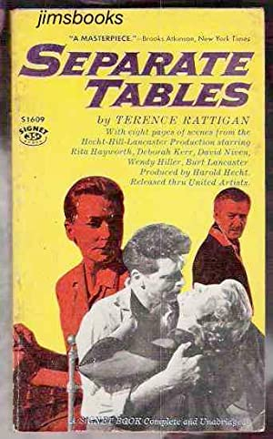 Separate Tables: Rattigan, Terence