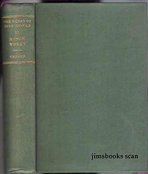Minor Works vol VI (Six): Austen, Jane edited