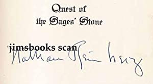 Quest of the Sages' Stone (SIGNED COPY)
