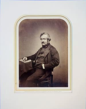 Portrait photo by Maull and Polyblank. Matted: Tupper, Martin Farquhar