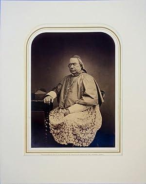 Portrait photo by Maull and Polyblank. Matted: Wiseman, Nicholas (Cardinal)