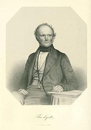 Lithograph portrait by T. H. Maguire.: Lyell, Charles
