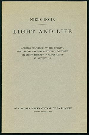 Light and life: Bohr, Niels