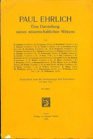 Eine Darstellung seines wissenschaftlichen Wirkens . . . Festschrift zum 60. Geburtstag des ...