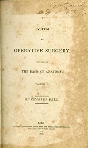 System of operative surgery. 2 vols: Bell, Charles