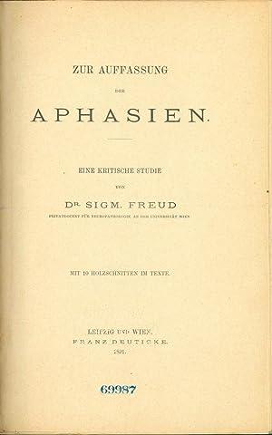 Zur Auffasung der Aphasien: Freud, Sigmund