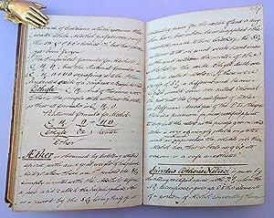 Materia medica. Medical manuscript: Leake, Jonas Richard