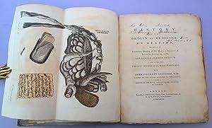 History of the origin of medicine: An oration . .: Lettsom, John Coakley
