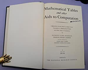 Mathematical tables and other aids to computation.: MTAC