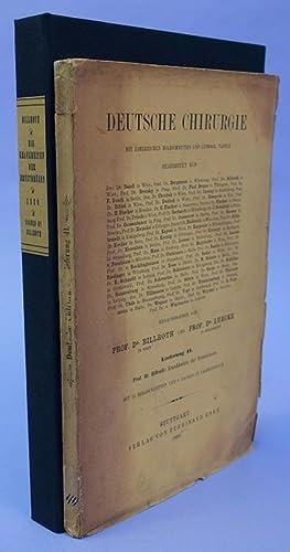 Die Krankheiten der Brustdrüsen. Billroth's personal copy, signed and dated: Billroth, Theodor