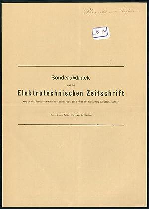 Über die Versuche mit Bildtelegraphie zwischen München und Berlin vom 15. April bis 15. mai 1907. ...