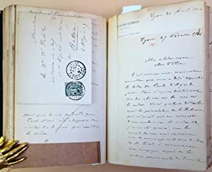 Correspondence de l'oncle Charles. Bound collection of letters: Deperet, Charles
