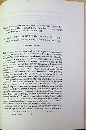 Scientific memoirs. Bound collection of offprints etc. presented to C. Stokes: Stokes, Charles