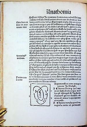 De omnibus humani corporis interiorbis menbria anathomia: Mondino de Luzzi (Mundinus)
