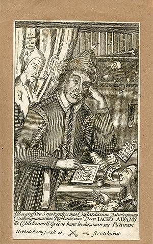"""Engraved Portrait by """"Hobbedeboody"""": Adams, Jack"""