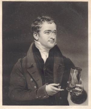 Mezzotint engraving of Mayo by David Lucas after J. Lonsdale: Mayo, Herbert
