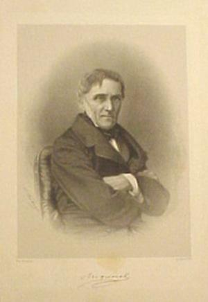 Lithograph by A. Fuhn? after photograph by Pierre Petit: Becquerel, Antoine
