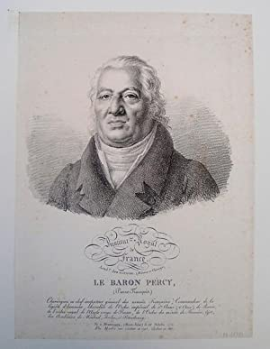 Lithograph by Bartly, 1821. 30x22cm: Percy, Pierre-Francois