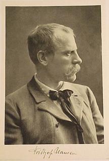 Portrait photolithograph, folio size: Nansen, Fridtjof