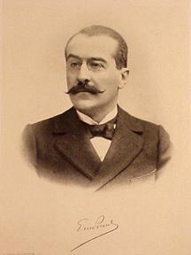 Photolithographic portrait, folio size. 30x21cm: Picard, Emil