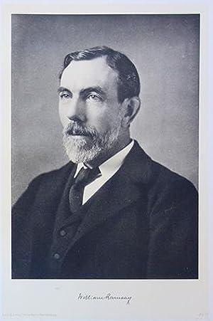 Portrait photolithograph, folio size: Ramsay, William