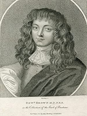 Engraved Portrait by Edward Harding: Brown, Edward, MD