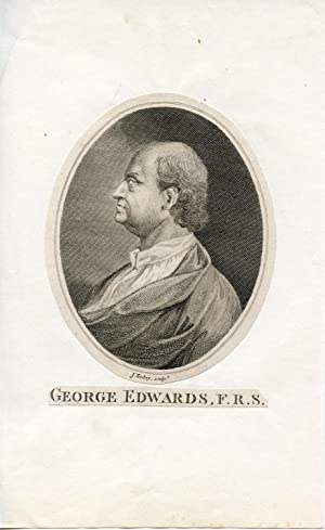 Engraved Portrait by J. Tookey: Edwards, George