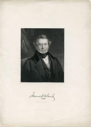 Engraved Portrait by J. Brain after W. Room: Copland, James