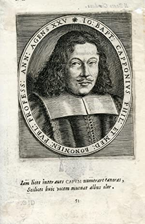 Engraved Portrait: Capponius