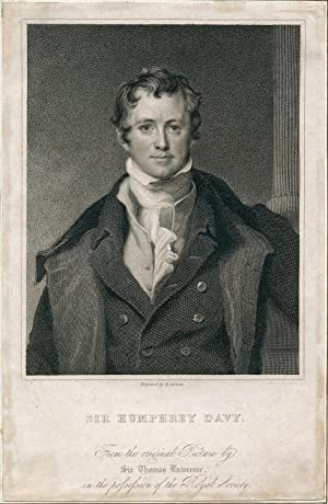 Engraved Portrait by E. Scriven: Davy, Humphrey