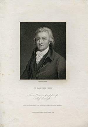 Engraved Portrait by by J. Thomson: Cartwright