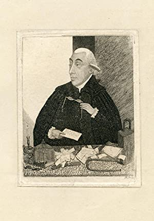 Engraved Portrait: Black, Joseph