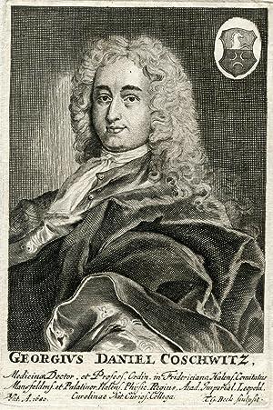 Engraved Portrait: Coschwitz, George Daniel