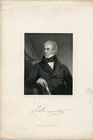 Engraved Portrait by K. Cochran after H. Room: Annisley, J.