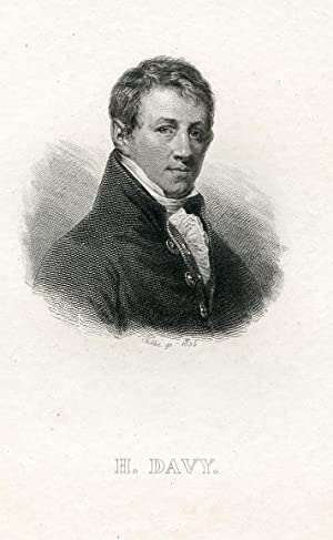 Engraved Portrait by Pollet: Davy, Humphrey