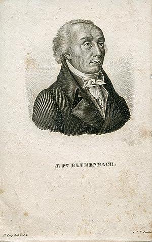 Engraved Portrait by C. L. F. Panckouci: Blumenbach, Johann Frederic