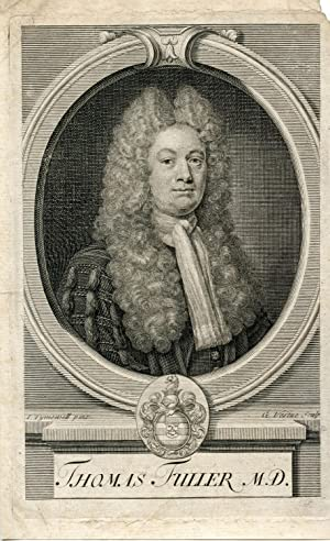 Engraved Portrait by G. Vertue after I. Tymewell: Fuller, Thomas