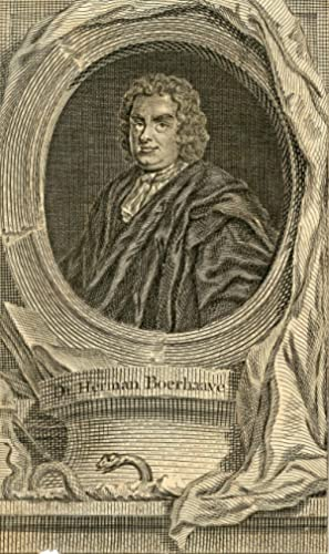 Engraved Portrait: Boerhaave, Herman