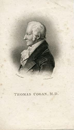 Engraved Portrait by J. Thomson after F. Gerard: Cogan, Thomas