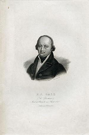 Engraved Portrait: Gall, Fancis Joseph