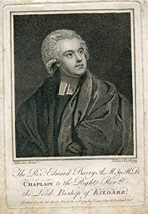 A. M. & M.D., Chaplain to the Right Reverend the Lord Bishop of Kildare. Engraved Portrait by J...