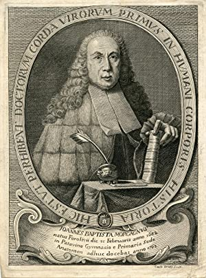 Engraved Portrait by Caxlo Oraty: Baptista, Joannes