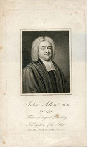 From an original Painting in Possession of the Author. Engraved portrait by Hopwood: Allen, John