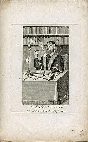 Engraved Portrait: Everard, Giles