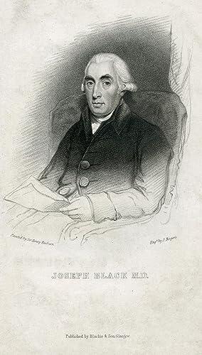 Engraved Portrait by J. Rogers after Henry Raeburn: Black, Joseph