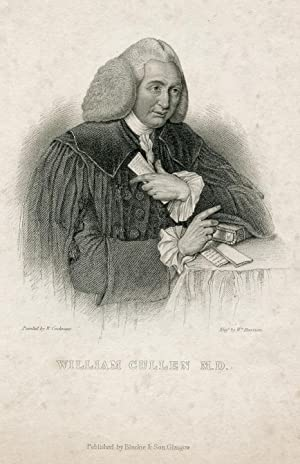 Engraved Portrait by William Howison after W. Cochrane: Cullen, William