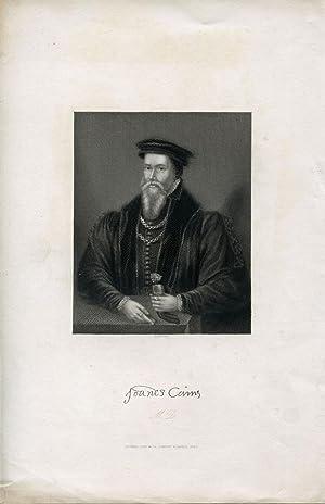 Engraved Portrait by Egleton: Caius, John