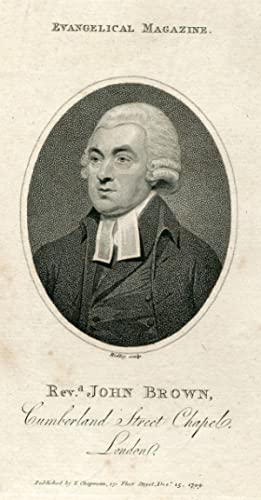 Engraved Portrait by Ridley: Brown, John