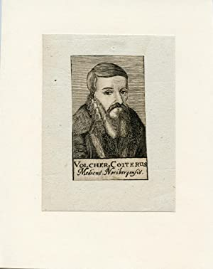 Medicus Noribergensis. Engraved Portrait: Coiterus, Volcher