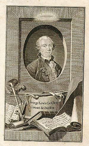 Engraved Portrait: Buffon, George Lewis Le Clerc